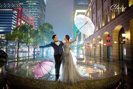【辛辛克萊】夜景 x 婚紗照