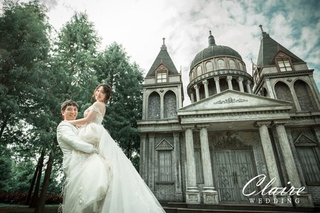 【辛辛克萊】 婚紗基地 x 愛麗絲的天空 | 韓式 | 浪漫