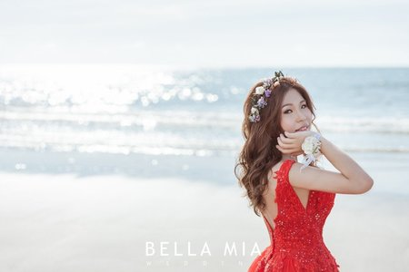 海岸沙灘-婚紗攝影