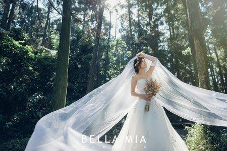 森林系列婚紗