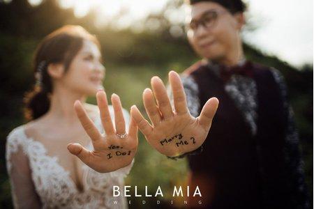 蓓拉米婚禮精選婚紗