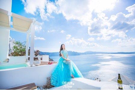 薇薇新娘-希臘聖托里尼婚紗攝影(海外)