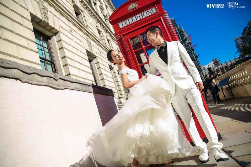 英國倫敦度蜜月就是浪漫!