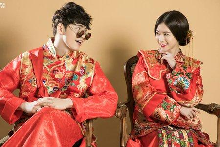 中式禮服-內景