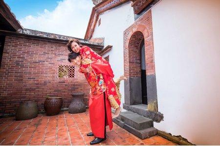 中式禮服-外景