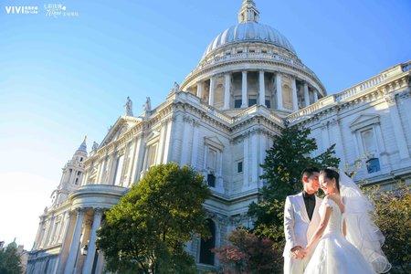 海外婚紗 - 英國倫敦