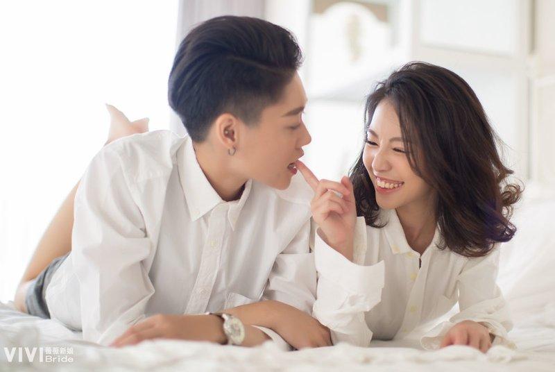 同志彩虹婚紗拍攝作品