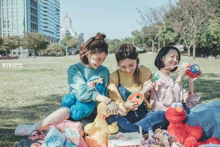 【閨密】一起去野餐❤