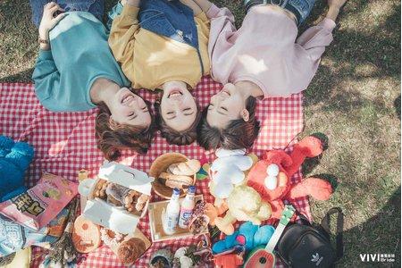 【閨密婚紗】一起去野餐❤