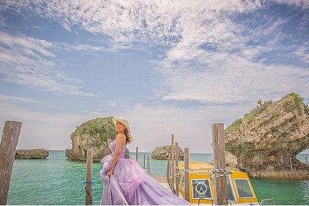 『海外婚紗』沖繩 自然清新有愛風