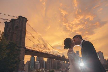 『海外婚紗 紐約』 專門拍紐約 每年都去 紐約當地攝影師