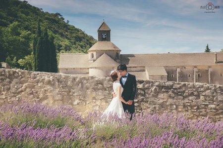 『海外婚紗』南法普羅旺斯&巴黎