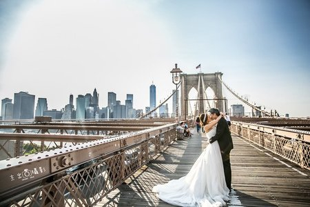 『海外婚紗』紐約 Oversea in  brooklyn bridg