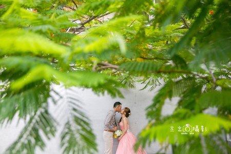幾米公園 可愛新娘 宜蘭拍婚紗 宜蘭景點