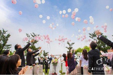 [凱瑟琳]美式風格婚禮攝影 #1