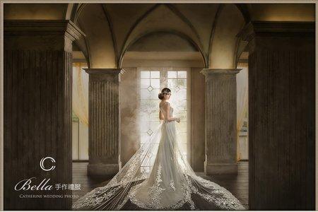 [凱瑟琳]Bella手作禮服 系列3-舞蕾絲