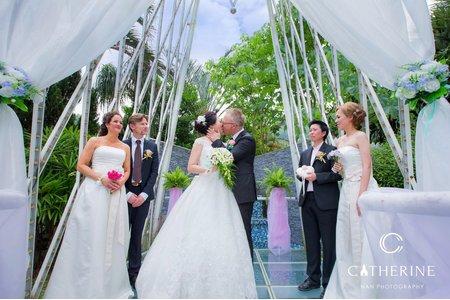 [凱瑟琳]美式風格婚禮攝影#3