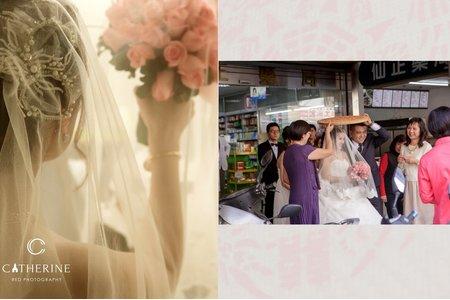 [凱瑟琳]中式風格婚禮攝影 #1