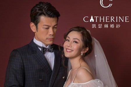 【凱瑟琳婚紗攝影】明星婚紗劇照-王宇婕  x  陳志強