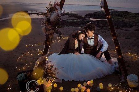 【凱瑟琳婚紗攝影】- 靜謐 -暮之證婚