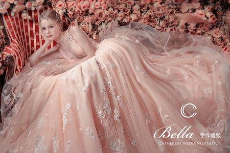 【凱瑟琳婚紗】New 2020 😍《羽蕾絲 》Bella手作禮服