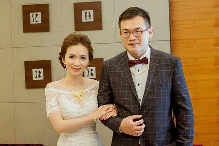 新娘佳凌 訂結婚晚宴