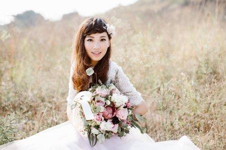 峽谷草原美式自助婚紗
