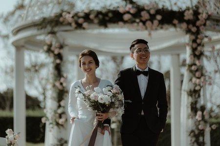 心之芳庭新娘秘書/西式婚禮造型