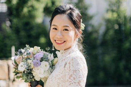 席樂法新娘秘書/西式婚禮造型