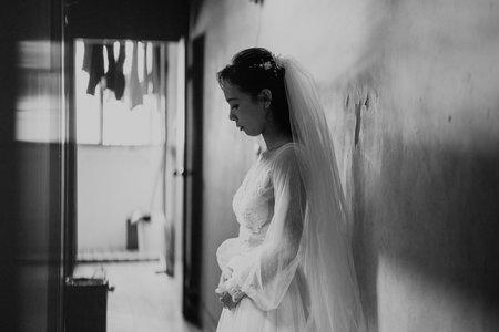 台中福華飯店新娘秘書/西式婚禮造型