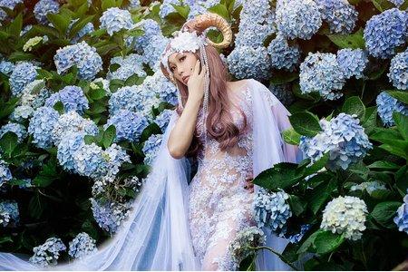 18PHOTO自主婚紗-紫陽花女孩
