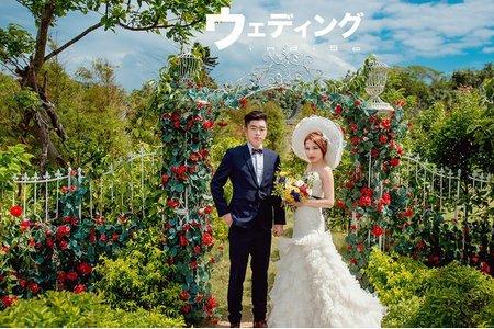 。台灣個性婚紗。Ben & Chi Yu
