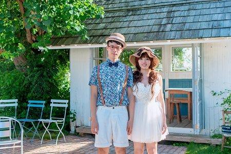 。日本沖繩婚紗。Max & Lucy