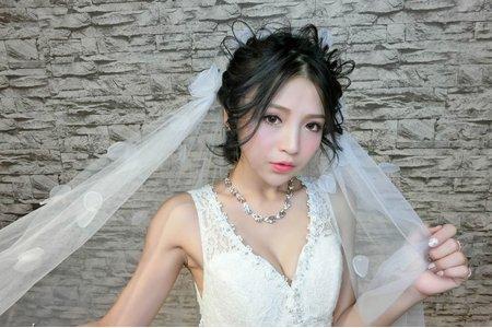 新秘蓁妮/女神新娘造型