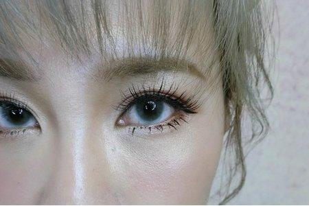 [新秘SHOW]細緻眼妝/高盤髮/水波紋造型
