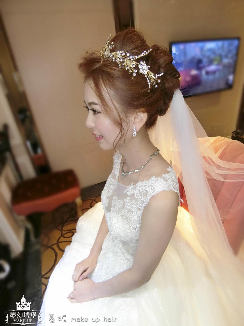 CIMG2294-2 - 夢幻城堡彩妝造型團隊 - 結婚吧