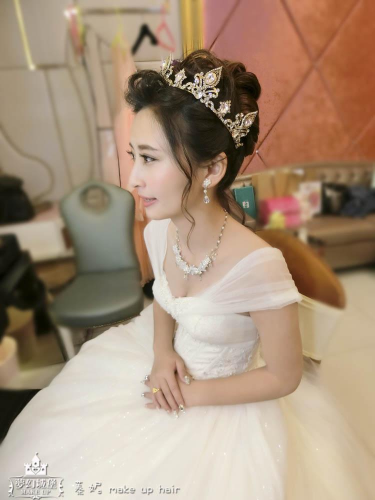 CIMG8828-2 - 夢幻城堡彩妝造型團隊 - 結婚吧