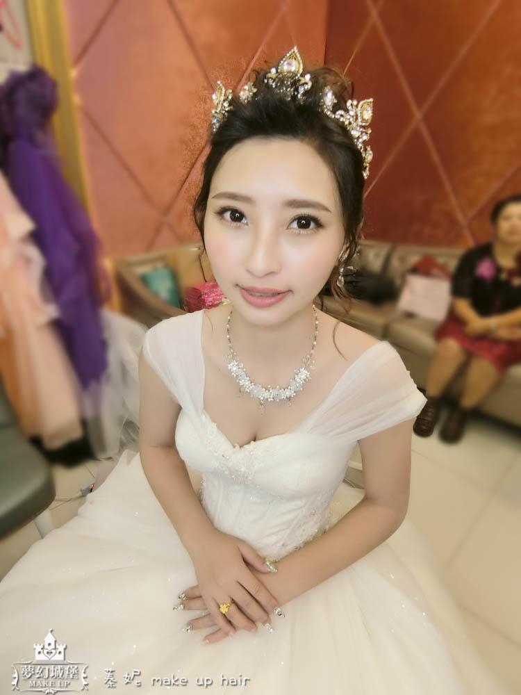 CIMG8829-2 - 夢幻城堡彩妝造型團隊 - 結婚吧