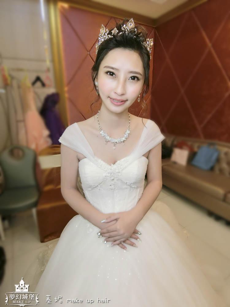 CIMG8848-2 - 夢幻城堡彩妝造型團隊 - 結婚吧