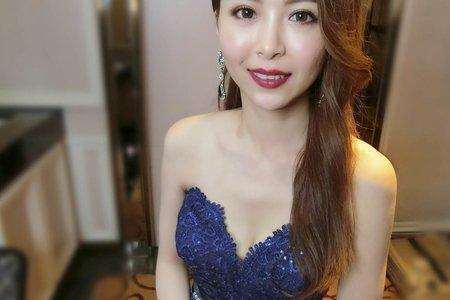 [新秘蓁妮]名媛時尚風格新娘造型