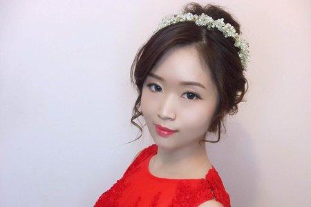 [新秘RICHE]婚宴造型