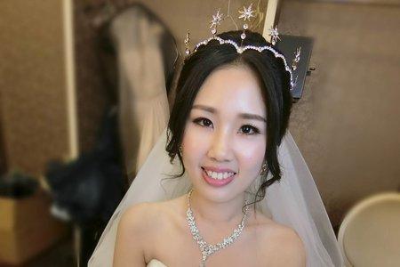 [新秘蓁妮]婚宴造型