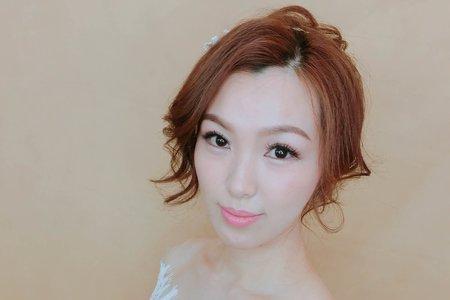 [新秘RICHE]新娘造型創作