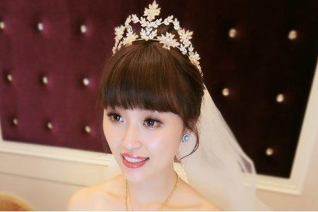 夢幻城堡彩妝造型團隊-新秘LARA-婚宴造型
