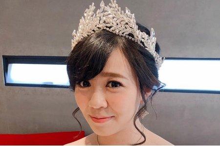 夢幻城堡彩妝造型團隊-新秘RICHE-婚宴造型
