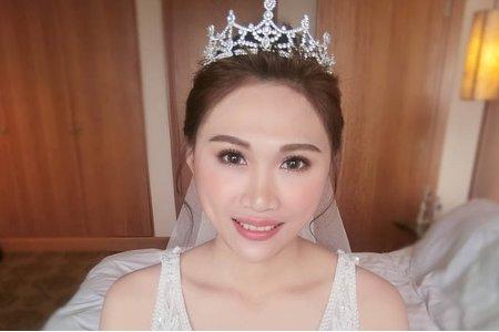 夢幻城堡彩妝造型 /新秘蓁妮 婚宴新娘造型