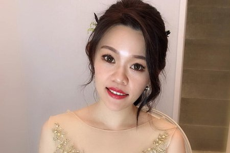 夢幻城堡彩妝造型/ 新秘lara 新娘婚宴造型
