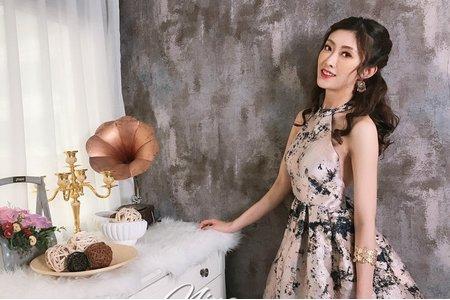 夢幻城堡彩妝造型/新秘羽寧-唯美韓系風新娘造型