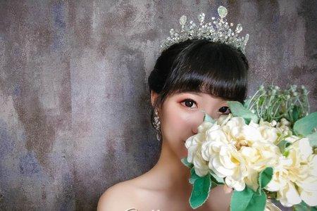 夢幻城堡彩妝造型/新秘catlin-皇冠新娘造型