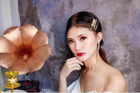 夢幻城堡彩妝造型/新秘catlin-韓系新娘造型